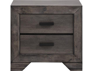 Nathan Grey Nightstand, , large
