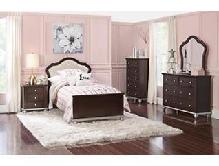Allison 5-piece Full Bedroom Set, , large