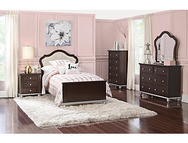 Allison 4 Piece Twin Bedroom Set, , large
