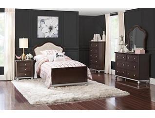 Allison 5-piece Twin Bedroom Set, , large