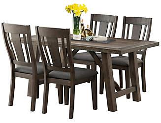 cash table  u0026 4 chairs kitchen  u0026 dining room furniture   outlet at art van  rh   artvan com