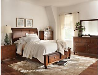 Chatham Walnut King Bed, , large