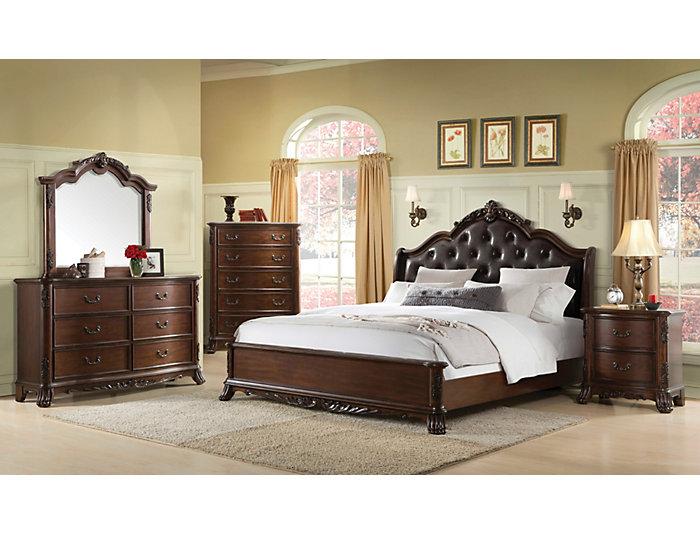 Christina King Bed, , large