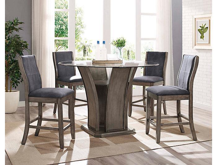 Art Van Dining Room Tables: Destin 5 Piece Gathering Set