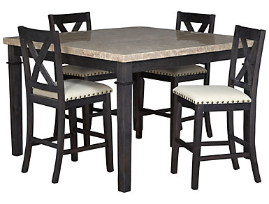 Fillmore 5 Piece Upholstered Gathering Set, , large