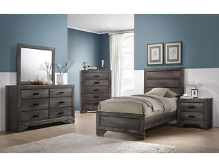 Nathan Twin Bed, , large
