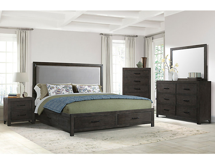 Shelby 3 Piece King Bedroom Set