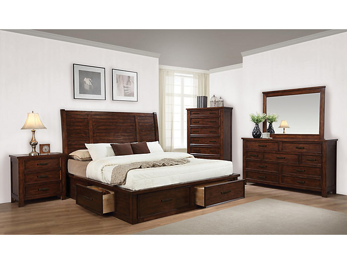 Sully 7 Piece Bedroom Set