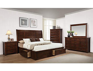 Merveilleux Sully 7 Peice Bedroom Set