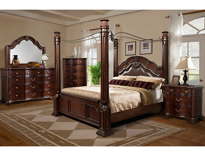 Toulouse King Poster Bed, , large