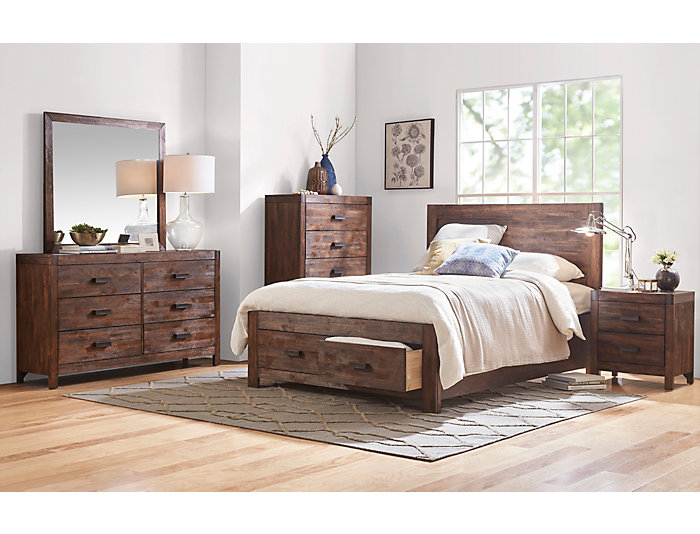 Warner 5 Piece King Bedroom Set