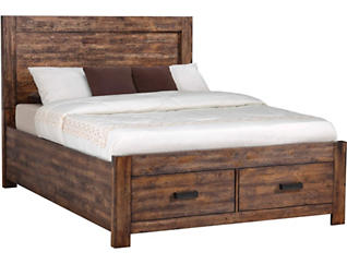 Warner Chestnut King Bedroom Set, , large