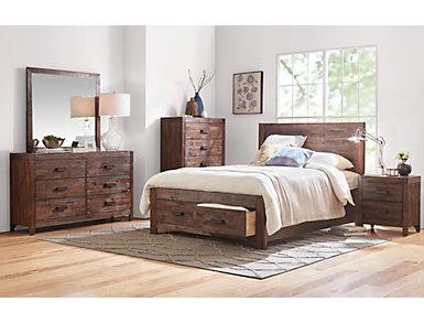 Warner 4 Piece Queen Bedroom Set, , large
