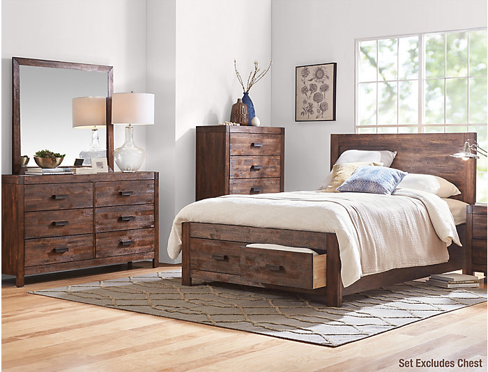 Warner 6 Piece Queen Bedroom Set | Outlet at Art Van