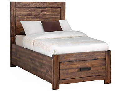 Warner Twin Bed, , large