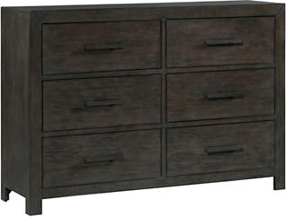 Shelby Dark Walnut Dresser, , large