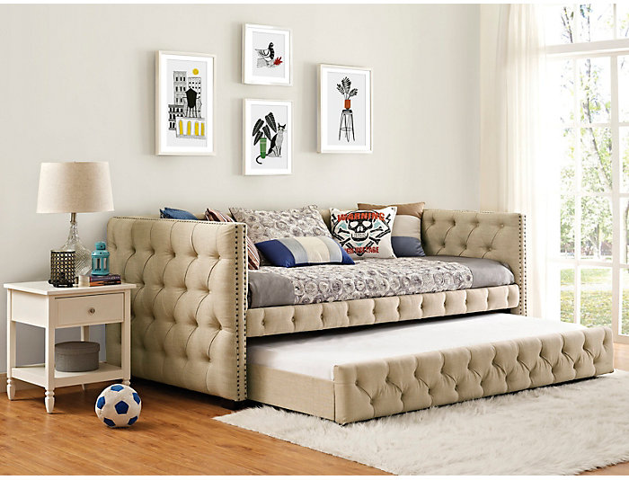 Astonishing Janell Twin Daybed Outlet At Art Van Ncnpc Chair Design For Home Ncnpcorg