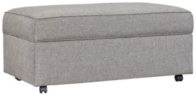 Kerry III Storage Ottoman, Steel, swatch