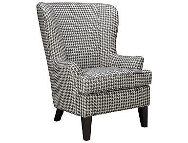 Cameron-II Chair, Black/Beige, , large
