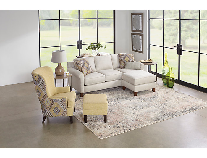 Couch And Two Accent Chairs.Spence Two Tone Accent Chair