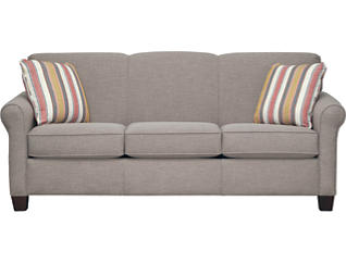 Spectrum-III Sofa, Silt Grey, large