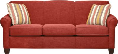 Spectrum-III Sofa, Vermillion Red, swatch