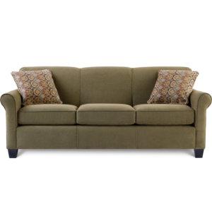 Spectrum Sofa Olive Art Van Furniture