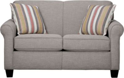 Spectrum-III Loveseat, Silt Grey, swatch