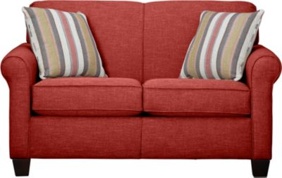 Spectrum-III Loveseat, Vermillion Red, swatch