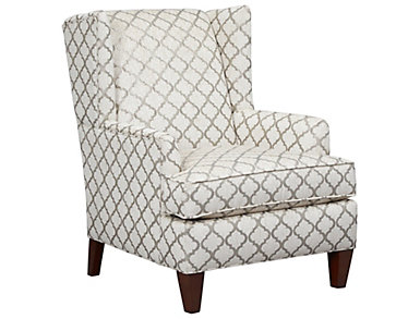 Grande' Accent Chair, Grey, , large