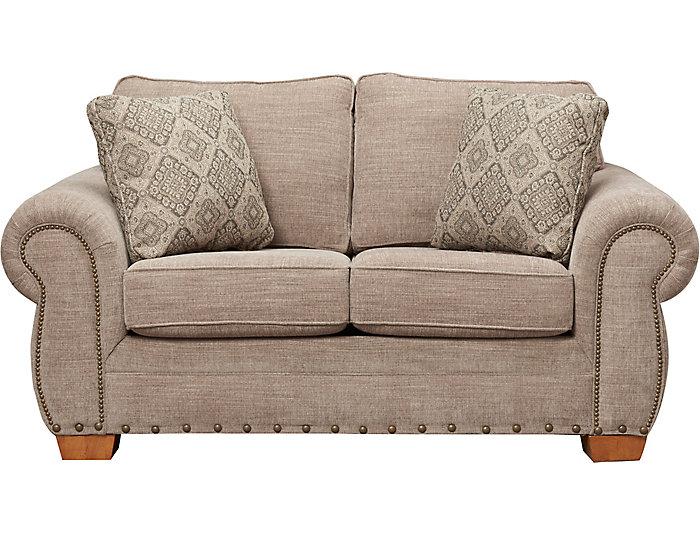 Excellent Granger Iii Taupe Loveseat Machost Co Dining Chair Design Ideas Machostcouk