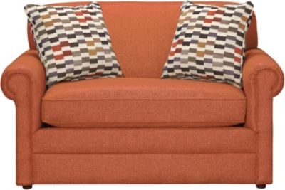 Kerry III Twin Sleeper, Copper Orange, swatch