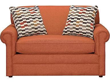 Kerry III Twin Sleeper, Steel, Copper Orange, large