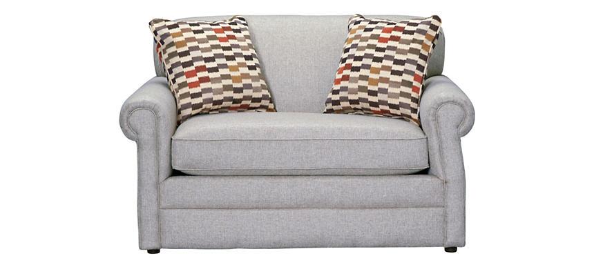 Kerry Iii Steel Twin Sleeper Sofa