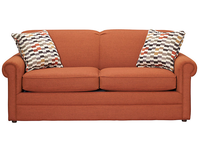 Terrific Kerry Iii Copper Orange Full Air Sleeper Sofa Ocoug Best Dining Table And Chair Ideas Images Ocougorg
