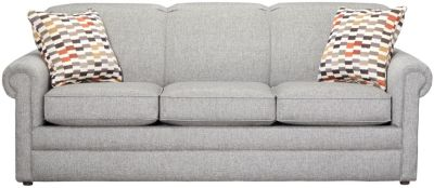 "Kerry III 80"" Sofa, Steel, swatch"