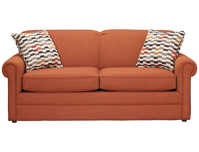 Kerry Iii 72 Sofa Copper Orange