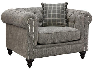 Cameron-II Chair, Grey, large