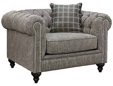Cameron-II Chair, Grey, , large