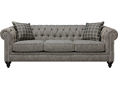 Cameron-II Tweed Sofa, , large