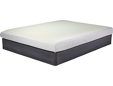 "Exint 7"" Memory Foam Plush Full Mattress Set, , large"