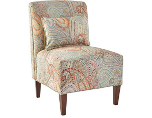 Elle IV Armless Accent Chair