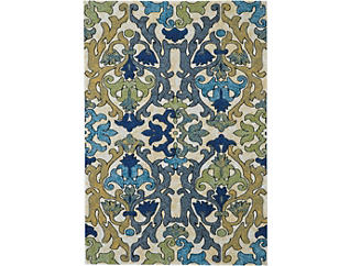 Brixton Chartreuse 5x8 Rug, , large