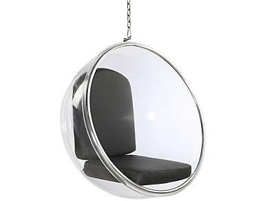 Baden Black Hanging Chair, , large