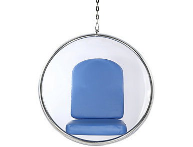 Baden Hanging Chair, Blue, large