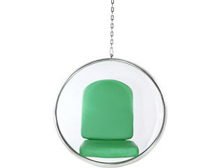 Baden Hanging Chair, Green, large