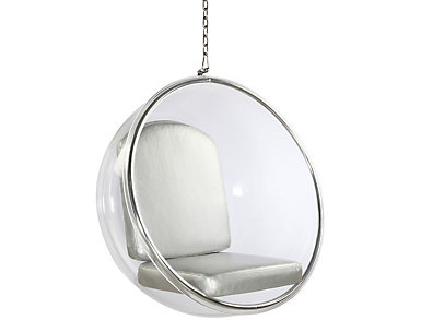 Baden Silver Hanging Chair, , large