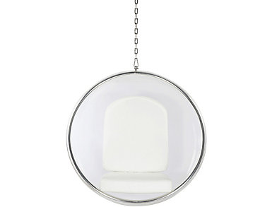 Baden Hanging Chair, White, large