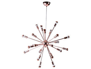 Spark Hanging Chandelier Coppr, , large