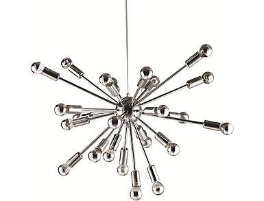 Spark Hanging Chandelier Silvr, , large